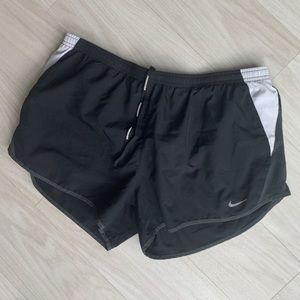 Nike Dri fit black running shorts size XL